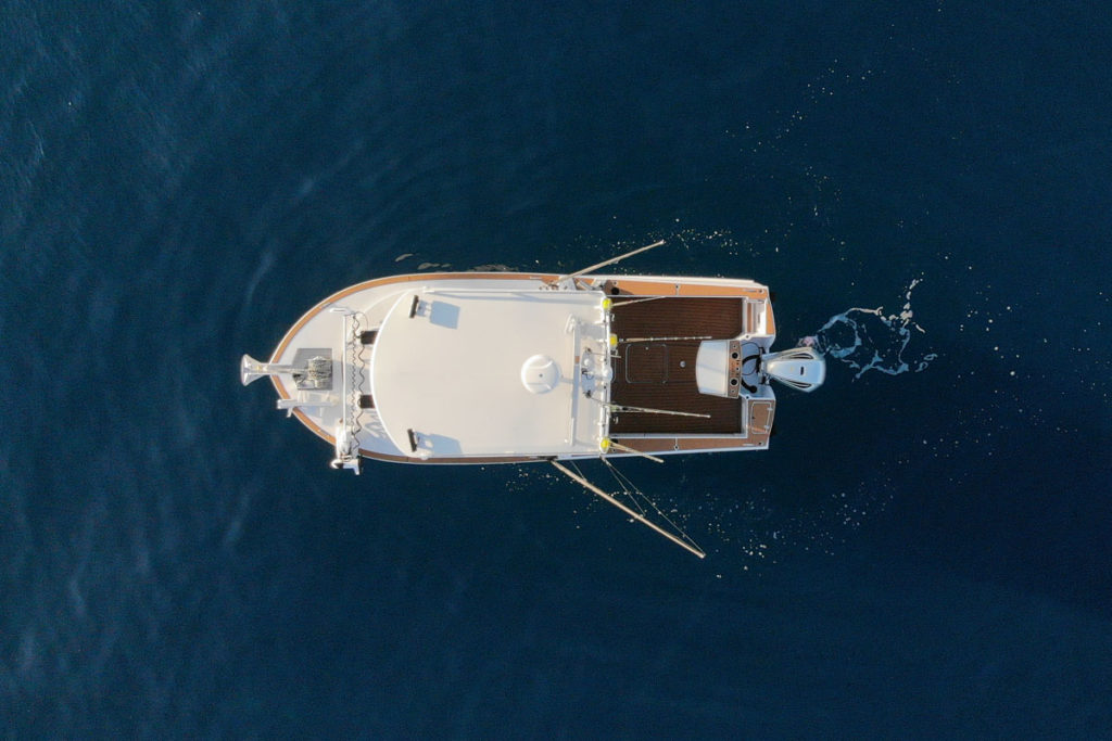 Herley Boats Commander Drone Phote Deck