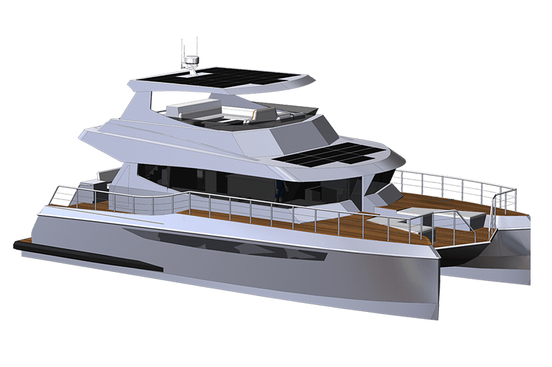 Herley Boats Catamaran Project Tangarua