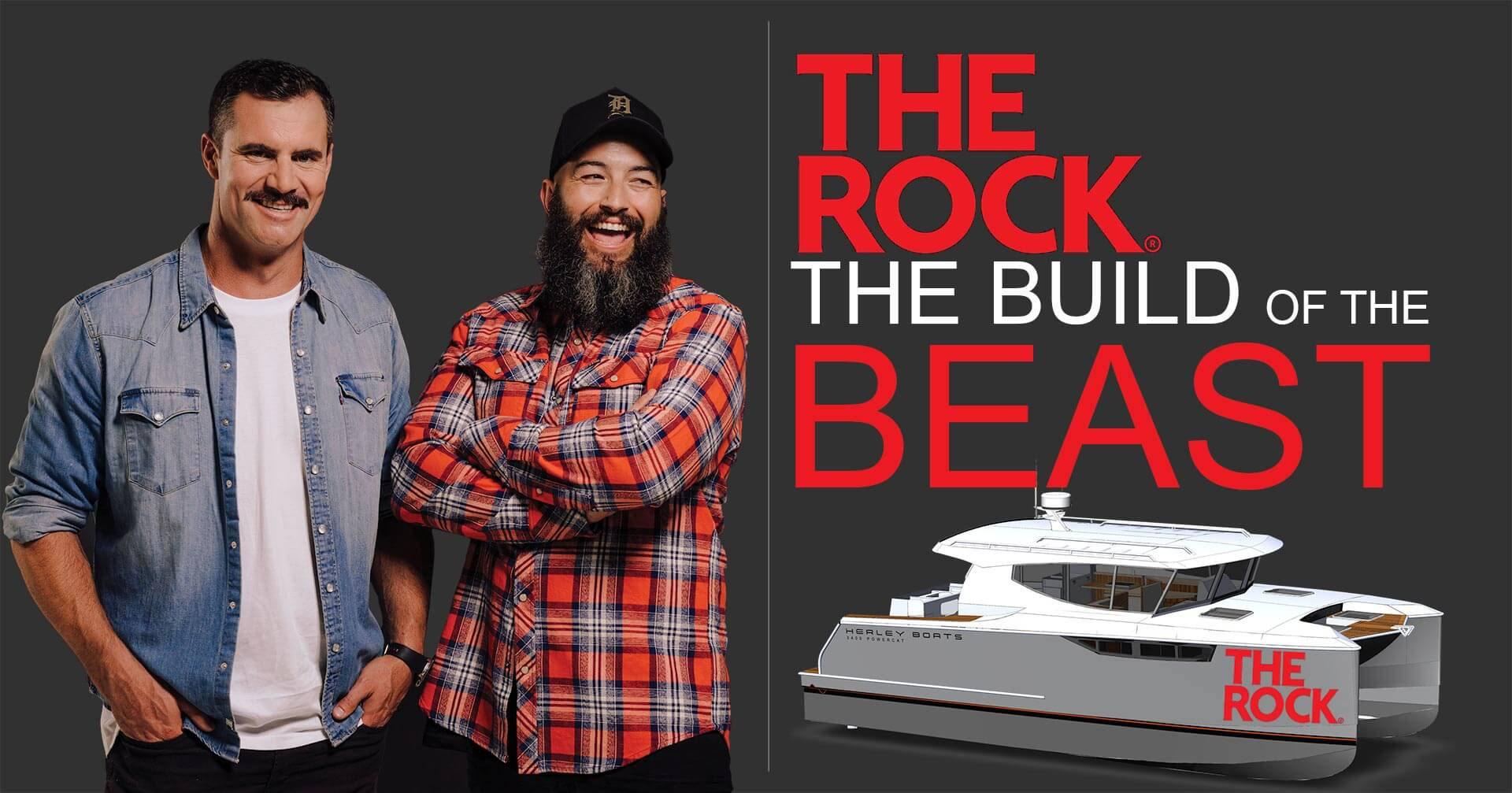 The Rock FM The Ride The Build of the Beast with Herley Boats