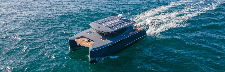 Herley Boats - Hybrid Electric Catamaran made in New Zealand