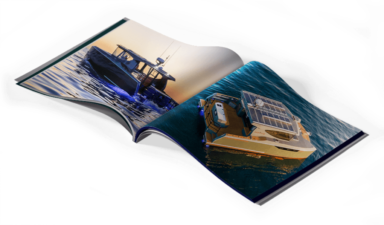 Herley Boats 3400 Electric Catamaran